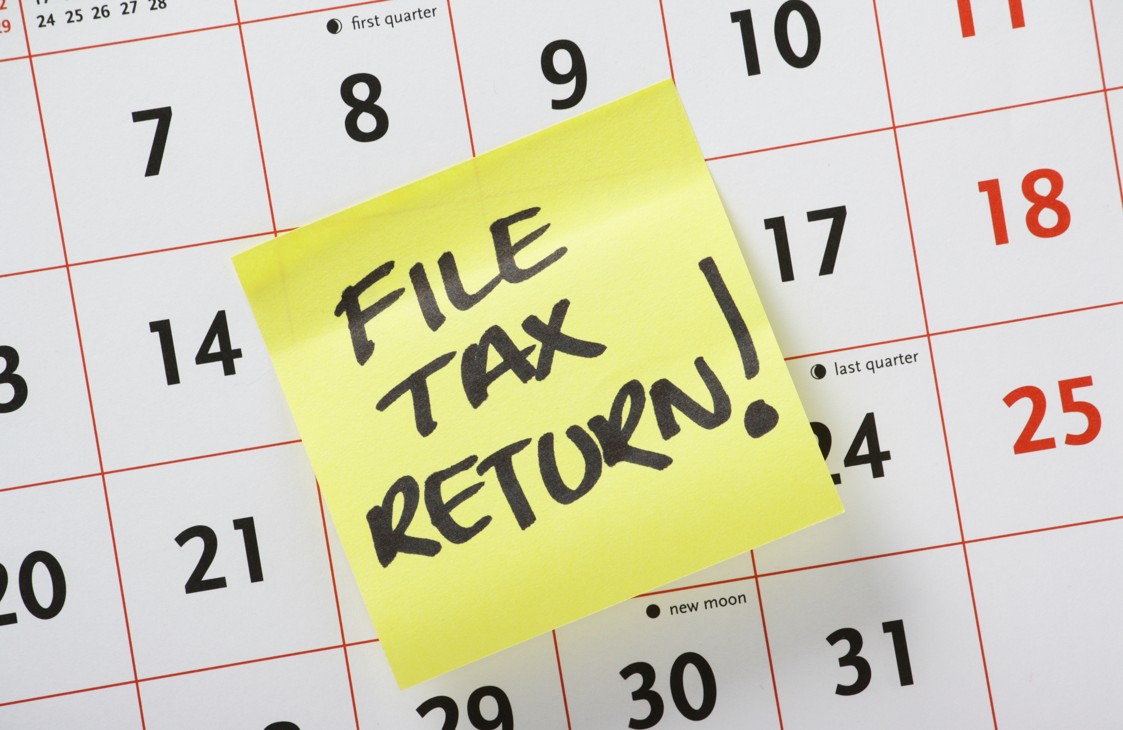 Haven't Filed Your Tax Return Yet? It's Time to Request an Extension