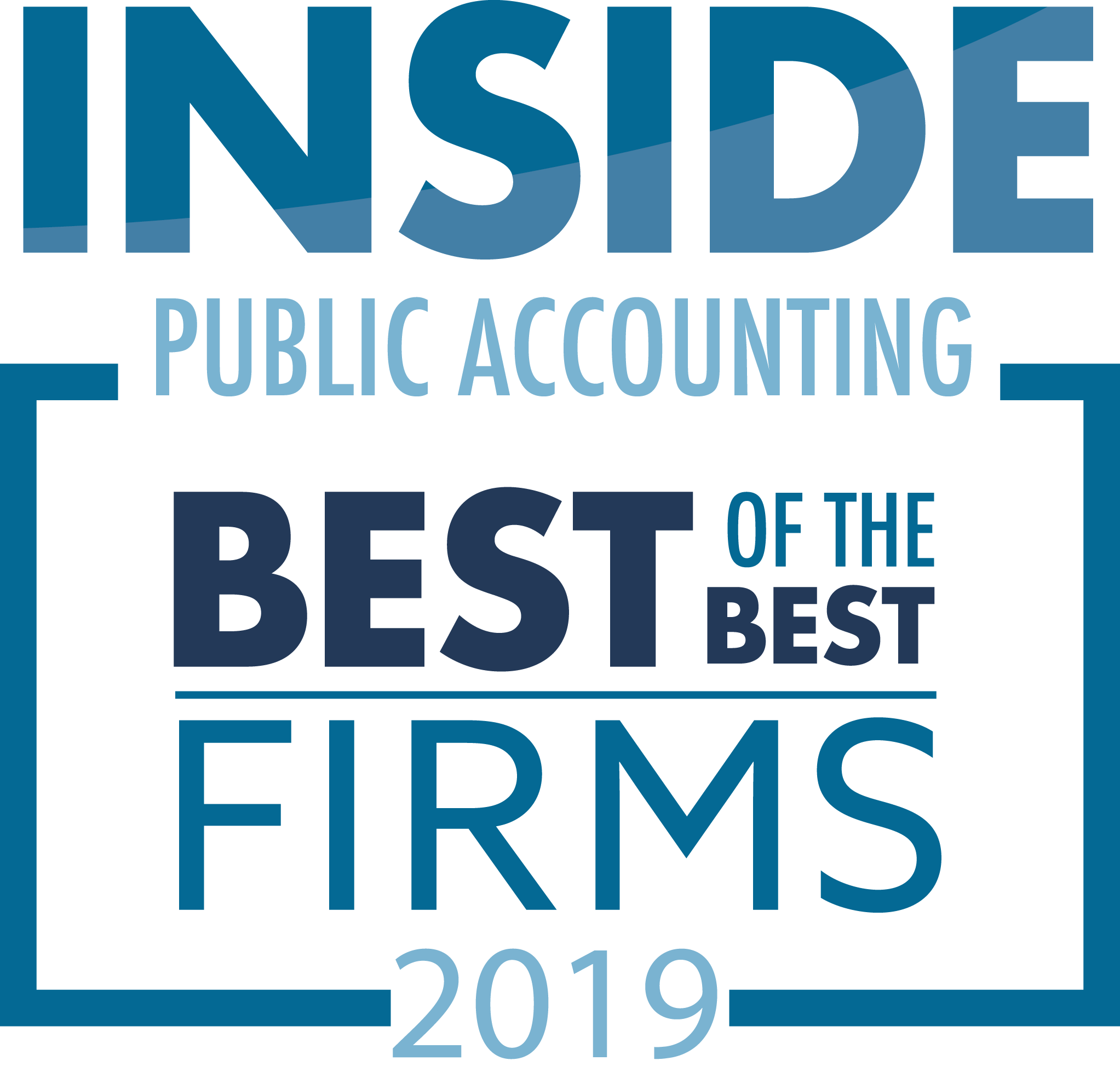 Goff Backa Alfera & Company, LLC Receives Accolades from Inside Public Accounting. Firm named Best of the Best Accounting Firms.